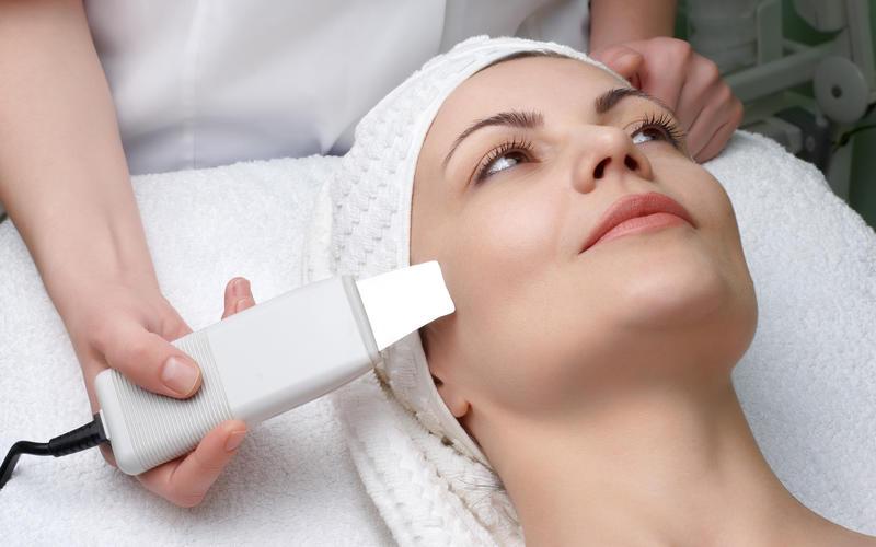 Ультразвуковая терапия кожи